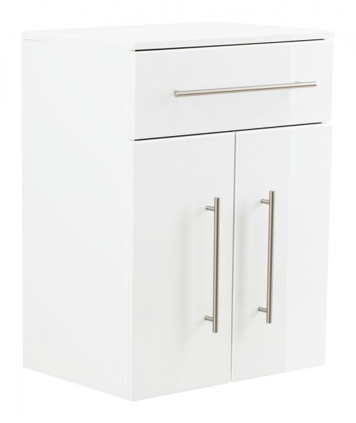 Aurum-XL Bathroom Cabinet White High Gloss