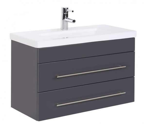 Bathroom Vanity Mars 800 SlimLine Anthracite Semi-Gloss
