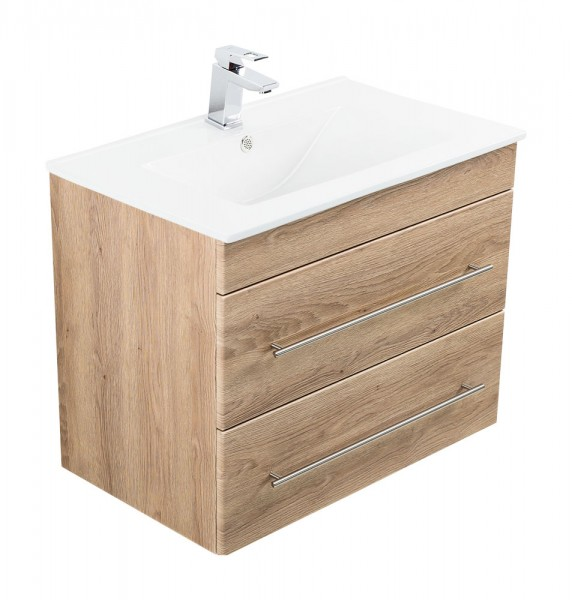 INFINITY 750 Bathroom Vanity light oak
