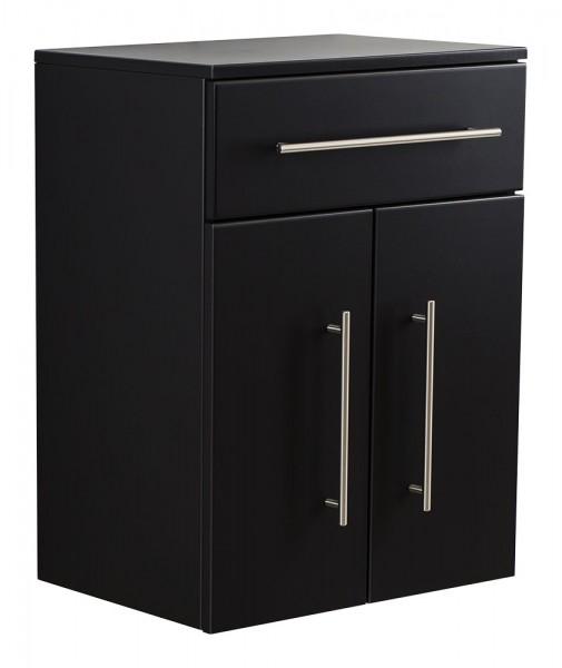 Aurum-XL Bathroom Cabinet Black Semi-Gloss