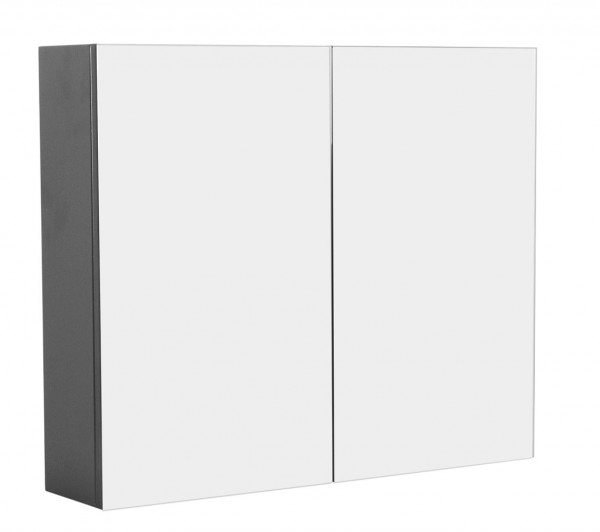 Medicine Cabinet basic 29.5 inches Anthracite Semi-Gloss