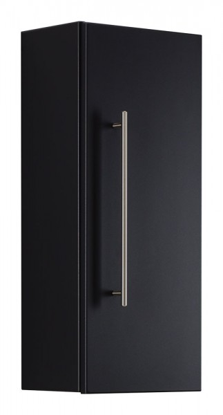 Aurum-S Bathroom Cabinet Black Semi-Gloss