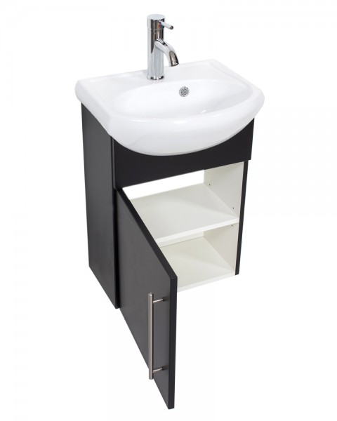 PRIMUS Bathroom Vanity Black Semi-Gloss