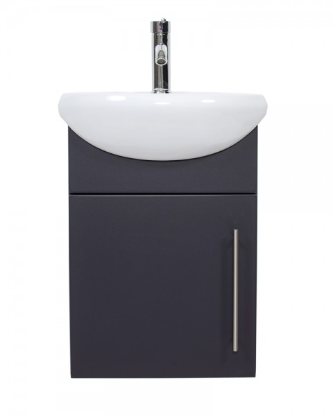 PRIMUS Bathroom Vanity Anthracite Semi-Gloss