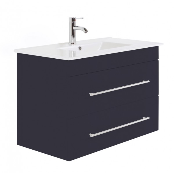 INFINITY 900 Bathroom Vanity Anthracite Semi-Gloss