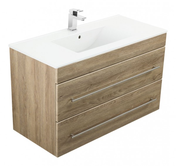 INFINITY 1000 Bathroom Vanity light oak