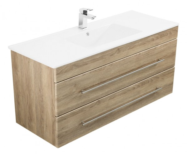 Versus Bathroom Vanity light oak satin