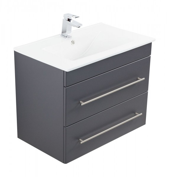 INFINITY 750 Bathroom Vanity Anthracite Semi-Gloss