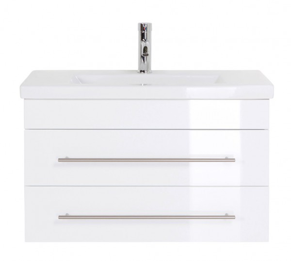 Bathroom Vanity Mars 800 SlimLine White High-Gloss