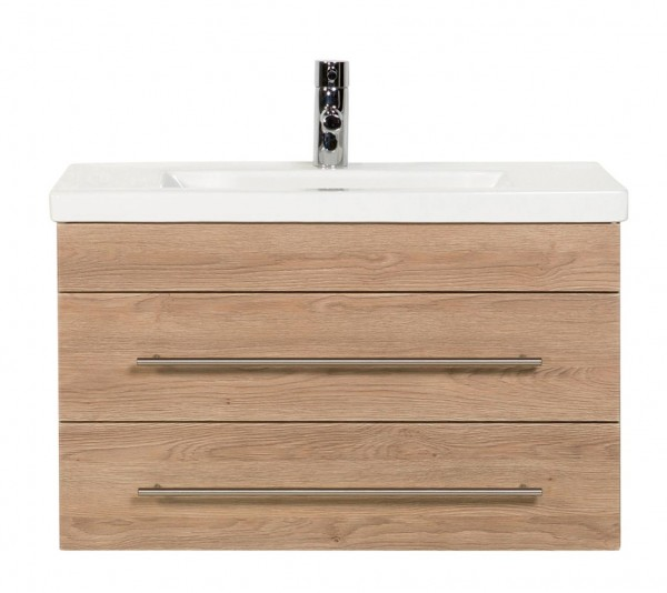 Bathroom Vanity Mars 800 SlimLine light oak