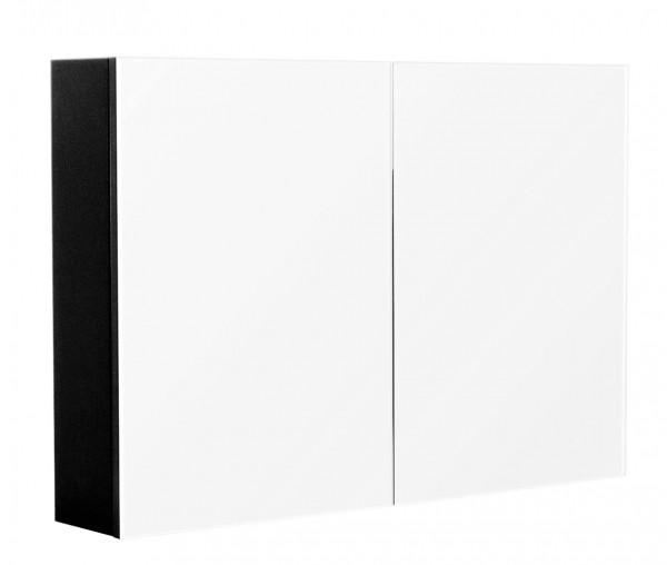 Medicine Cabinet basic 35.4 inches Black Semi-Gloss