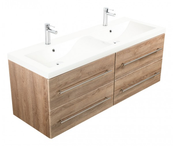 PERSEPOLIS XL Bathroom Vanity light oak