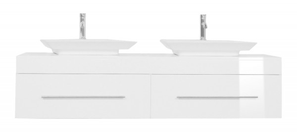 PEGASUS XL Bathroom Vanity White High-Gloss