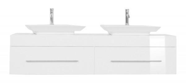 PEGASUS XL Bathroom Vanity White High-Gloss