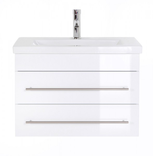 Bathroom Vanity Mars 700 SlimLine White High-Gloss