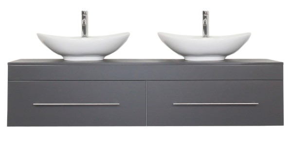 CLASSICO XL Bathroom Vanity Anthracite Semi-Gloss
